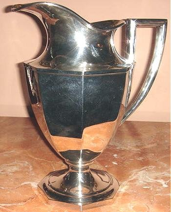Lovely Large Vintage Sheffield Silver Co EPNS Water Pitcher