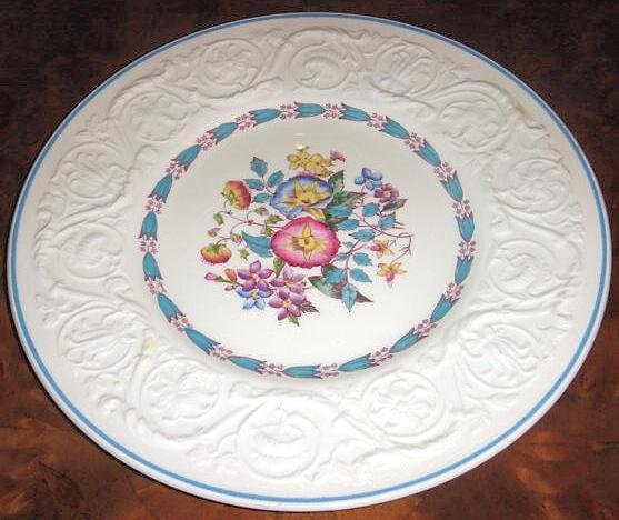 MORNING GLORY Wedgwood Patrician Pottery Dinner Plate