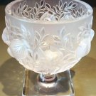 ELIZABETH Vase by Lalique Crystal Glass Birds in Flight ca 1980