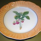 "RARE Summer Fruits STRAWBERRIES 10"" DINNER Plate Mottahedeh Portugal"