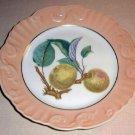 "RARE Summer Fruits APPLES 10"" DINNER Plate Mottahedeh Portugal"