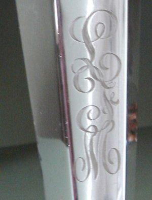 "LARGE 17"" Vintage Barbour Silver Co. Silver Plated Trumpet Vase Lovely Monogram"