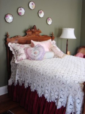 eBay: hand crochet bedspreads
