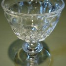 THUMBPRINT Liquor Cocktail Jeannette Glass Co