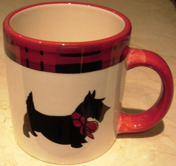NEW Great Scottie Dog Mug 2 Cup Capacity