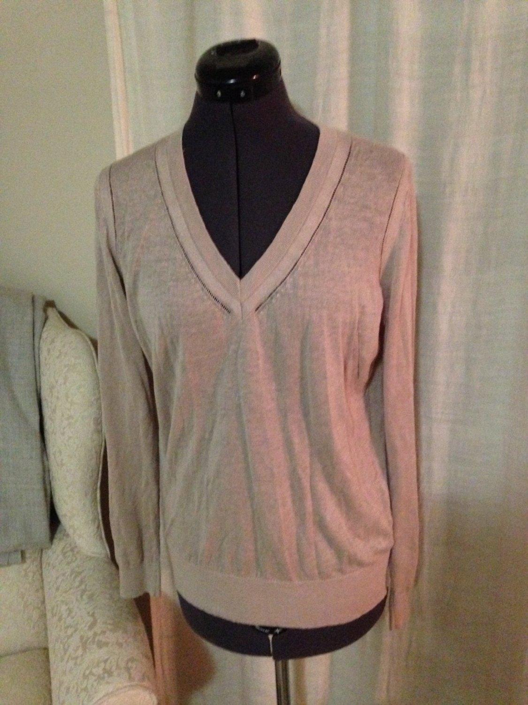 Tan Layering Sweater, Ann Taylor Loft, Size S