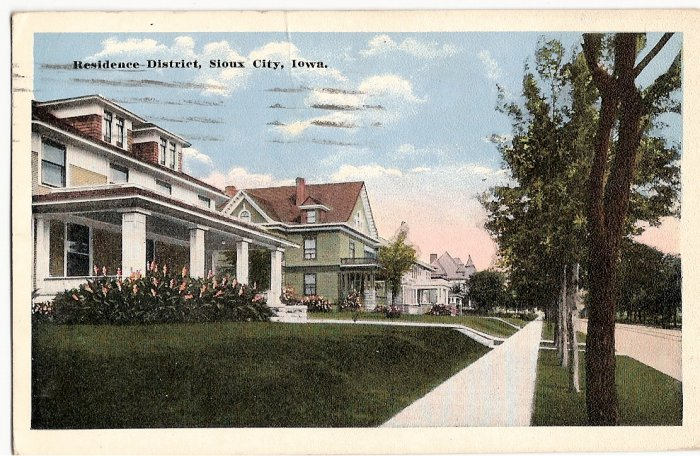 Iowa sioux city 1913 for Craft stores in sioux city iowa