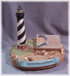 Cairn Studios Cape Hatteras Lighthouse Merck 7101 Ret