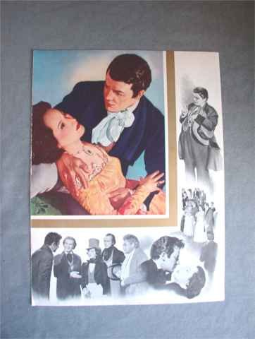 A Song to Remember Merle Oberon Paul Muni Promo Ad