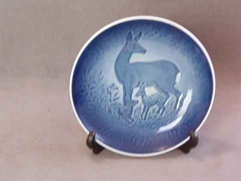 Bing & Grondahl Copenhagen Mother's Day Plate 1975