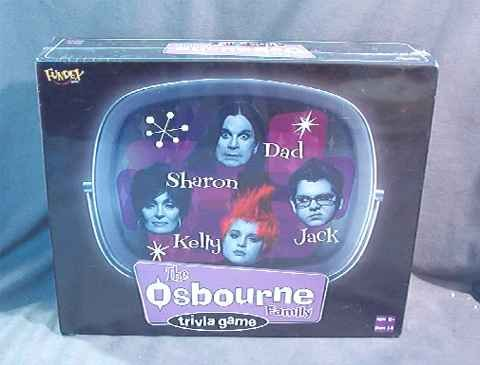 The Osbourne Family Trivia Game MIB SEALED