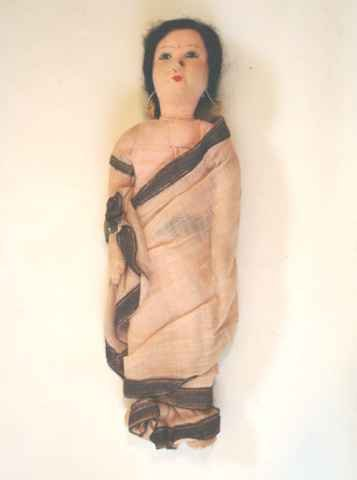 Vintage Cloth Madrasi Doll From India Khilowna