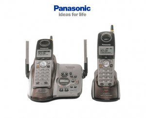 PANASONIC KX-TG5432 5.8GHz Digital Dual Cordless Telephone System