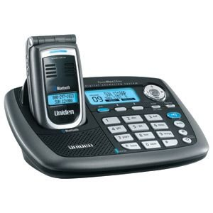 Uniden ELBT595 5.8GHz Bluetooth Flip Phone with Answering Machine, Caller ID & Speakerphone