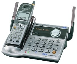 PANASONIC KX-TG5561 - 5.8 GHz FHSS GigaRange Digital Cordless Phone System