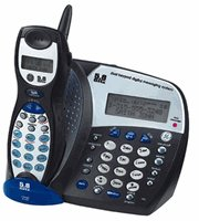 GE - 5.8GHz Cordless Speakerphone with Messaging System and Call-Waiting Caller ID