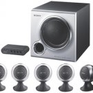 Sony SRSD5100 - 6-Piece - 130-Watt - 5.1 Multimedia and Gaming Speaker System