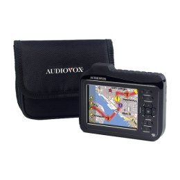 "Audiovox NVX226 - 3.5"" Touch & Go Screen Portable Car Navigation"