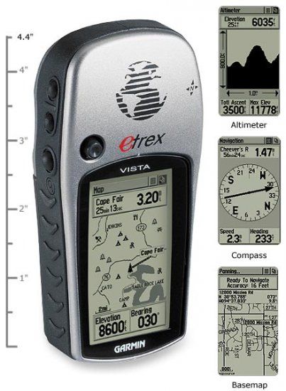 Garmin eTrex Vista GPS