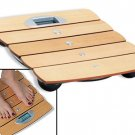 Ikasumoto Square Wooden Bathroom Scale