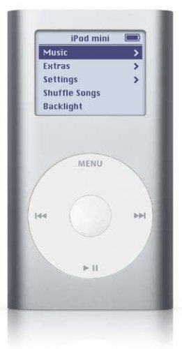 Apple iPod Mini - 6GB Portable MP3 Player - 1500 Songs in Your Pocket