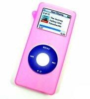 Nano Silicone Pink Ipod Case