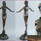 "Art deco Bronze Sculpture ""French Style"" visit: www.1900style.es"