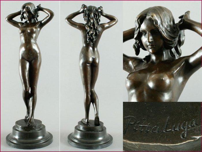"""Art decó Bronze Sculpture """"Sunrise"""" visit: www.1900style.es"""