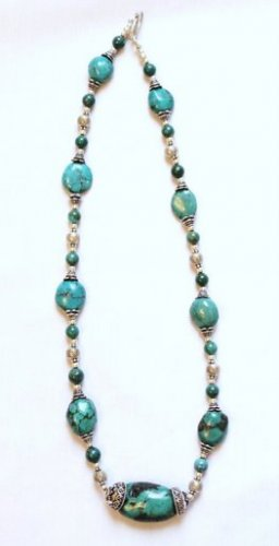 TQ014       Turquoise Necklace