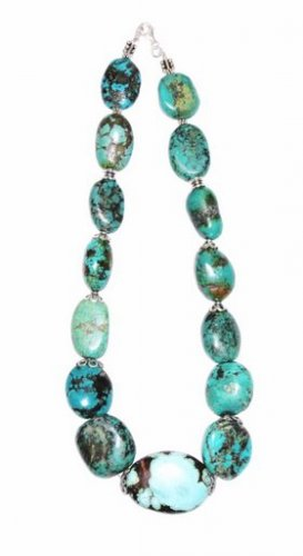 TQ017       Turquoise Necklace