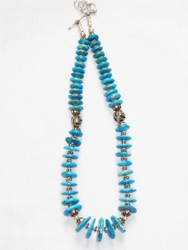 TQ026       Turquoise Necklace