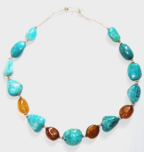 TQ035       Turquoise Necklace