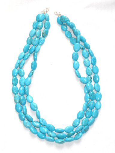 TQ042       Turquoise Necklace