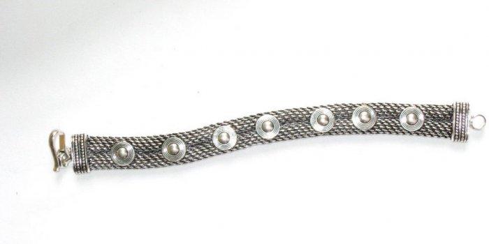 AQ036       Bracelet in Sterling Silver