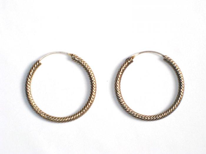 AQ075     Earrings in Sterling Silver