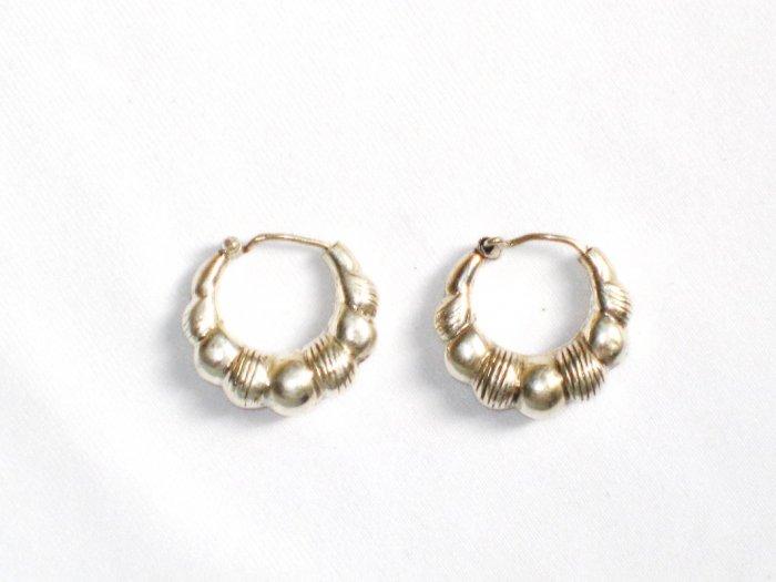 AQ078    Earrings in Sterling Silver