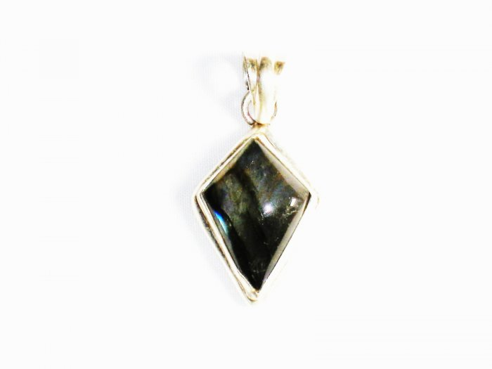 PN209 Labradorite Pendant in Sterling Silver - SOLD