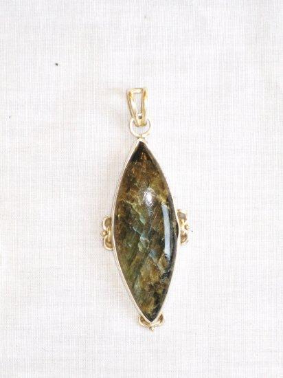 PN438 Labradorite Pendant in Sterling Silver