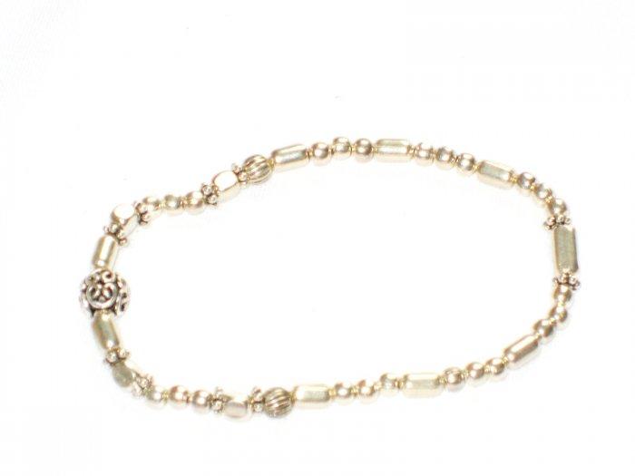 ST163 Oxidized Sterling Silver Bracelet