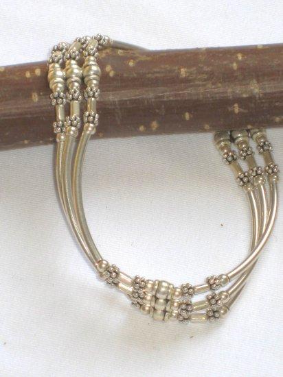 ST270 Oxidized Sterling Silver Bracelet