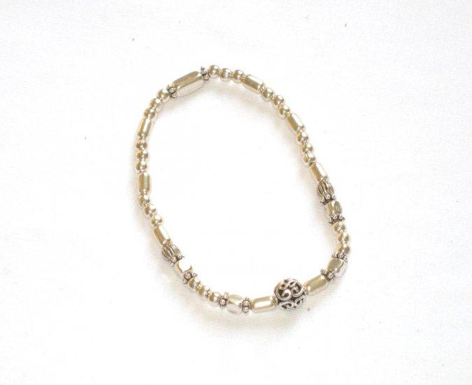 ST278 Oxidized Sterling Silver Bracelet