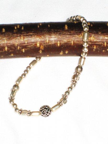 ST567 Oxidized Sterling Silver Bracelet