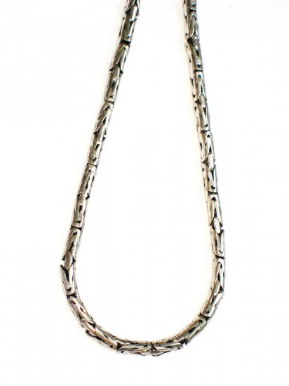 ST376 Oxidized Sterling Silver Chain (Male)