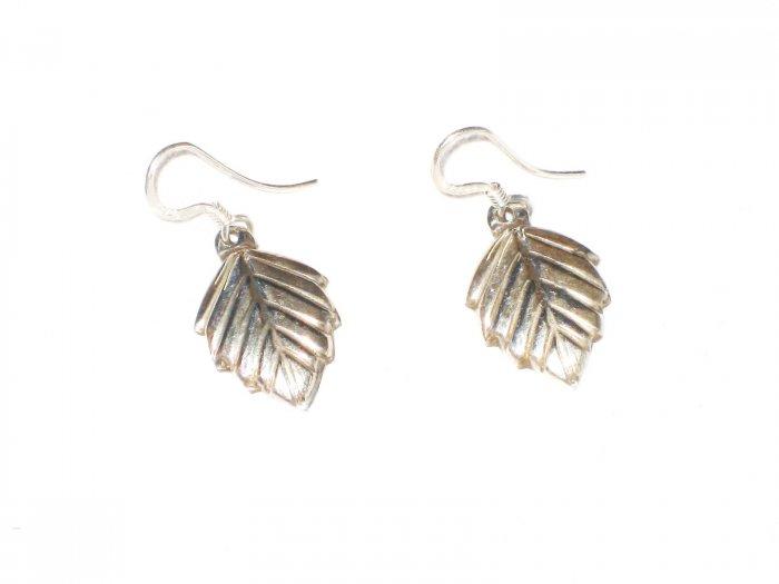 ST409 Oxidized Sterling Silver Earrings