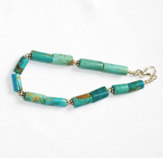 ST049   Turquoise Bracelet in Sterling Silver