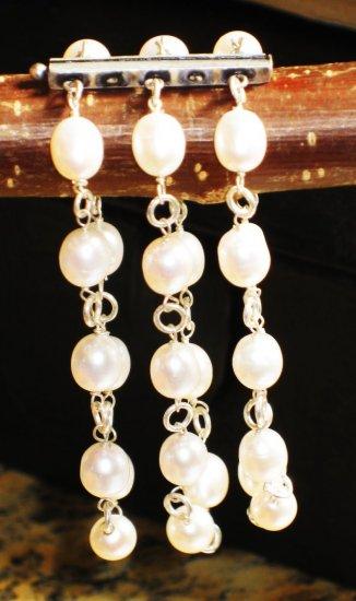 ST282  Pearl Bracelet in Sterling Silver
