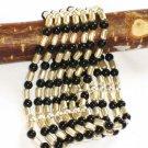 ST258 Onyx Bracelet in Sterling Silver