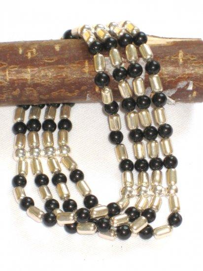 ST259 Onyx Bracelet in Sterling Silver