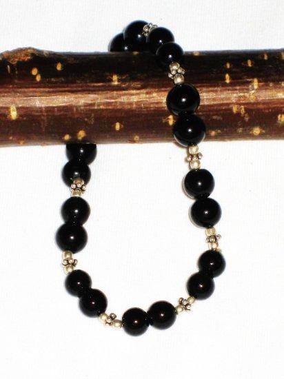 ST568 Onyx Bracelet in Sterling Silver