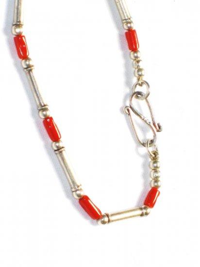 ST016 Coral Bracelet in Sterling Silver